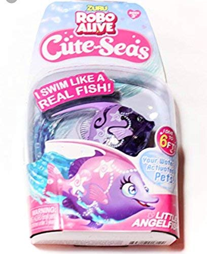 ROBO ALIVE Cute-Seas Little Angelfish - Pink - ANGELICA - by ZURU by ZURU (Image #1)