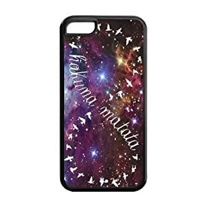 Personality Lion King Hakuna Matata Design Cheap Case Best Phone Cover for iPhone 5 AIR SHOP