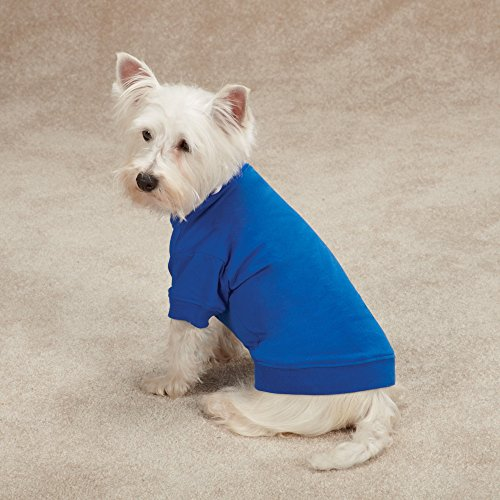 Zack-Zoey-Basic-Tee-Shirt-for-Dogs-16-Medium-Blue