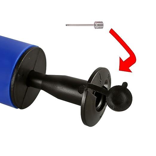 Bricolaje y herramientas Vicloon Globo Kit de Bomba para el Anillo de Fútbol Baloncesto Accesorios y herramientas de fontanería Azul-10