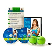 Tune Up Fitness Massage Therapy Full Body Kit includes Instructional DVDs and Yoga Tune up Therapy Balls