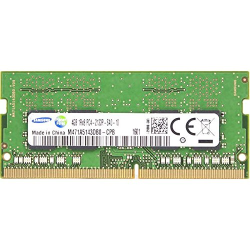 4GB Notebook Memory Module DDR4 2133 Mhz Samsung M471A5143DB0-CPB 260-pin SO-DIMM PC4-17000 RAM for Skylake Brand Laptop System at Amazon.com