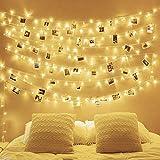 LED String Lights,100 LEDs 32.8 ft 8 Modes Starry Light Fairy Light for Garden,Wedding,Xmas Decoration Outdoor Indoor(Warm White)