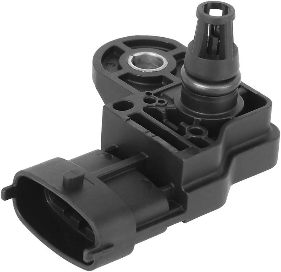 X AUTOHAUX 0261230334 CV2A-9F479-AA Air Pressure MAP Sensor for Ford F-350 Super Duty 2017