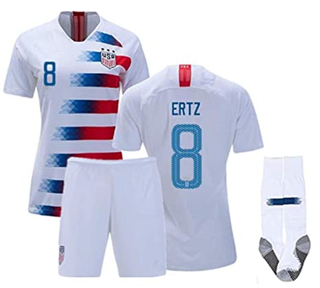 best sneakers ffb00 b1746 Amazon.com : ZZXYSY Julie Ertz #8 USA National Team Kids ...