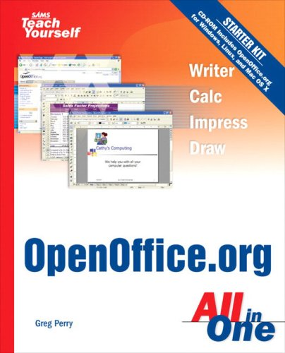 Sams Teach Yourself OpenOffice org All In One: Amazon co uk