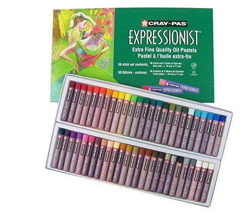 sakura-xlp50-50-piece-cray-pas-expressionist-assorted-color-oil-pastel-set