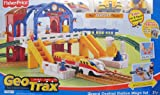 """GEOTRAX Geo Trax REMOTE Control GRAND CENTRAL STATION 'MEGA' TRAIN SET w """"SOUNDS"""", The FASTEST Team & CONFUSED Team (Total 4 FIGURES) & More! (2007)"""