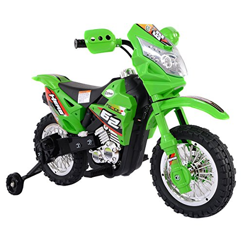 Quality Toys - Kids Electric Motorcycle - Battery Operated 3 Wheels Motorbike - 6V Electric Powered Bike for Kid - Three Power Wheel Motorized Toy Car Ride - Perfect for Gift