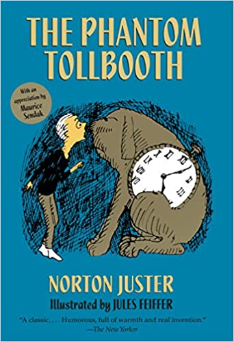 Image result for phantom tollbooth book cover