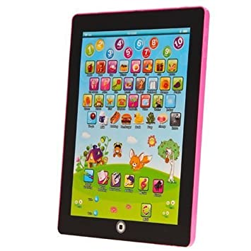 Kids Learning Tablet >> My First Tablet Kids Childrens Laptop Touch Type Learning Computer
