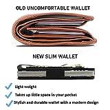 Minimalist Carbon Fiber Wallet - Thin Metal