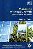 Managing Without Growth : Slower by Design, Not Disaster, Victor, Peter A. and Victor, Peter A., 184844205X