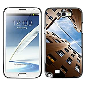 Hot Style Cell Phone PC Hard Case Cover // M00103134 germany architecture photos // Samsung Galaxy Note 2 II N7100