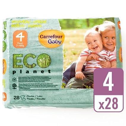 Carrefour bebé Eco planeta tamaño 4 Carry Pack de 28 Pañales