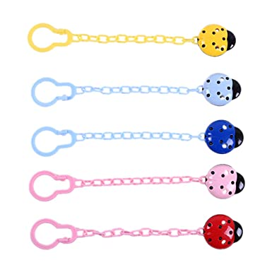 Toddler Baby Hand Leash Dummy Pacifier Clip Chain Holder Soother Nipple Strap US