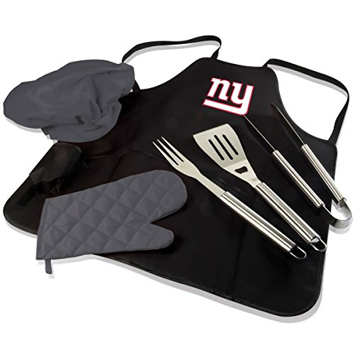 NFL BBQ Apron Tote Pro, New York Giants (Picnic Apron)