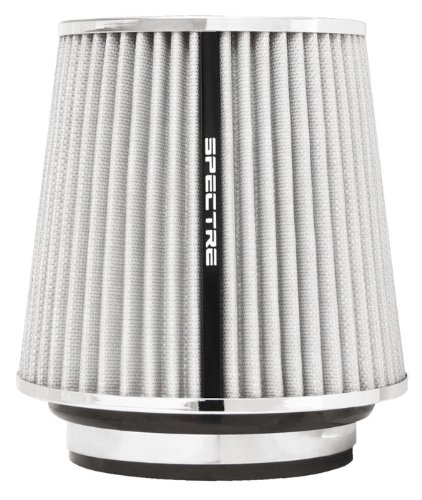 Spectre Performance 8138 Universal Clamp-On Air Filter: Round Tapered; 3 in/