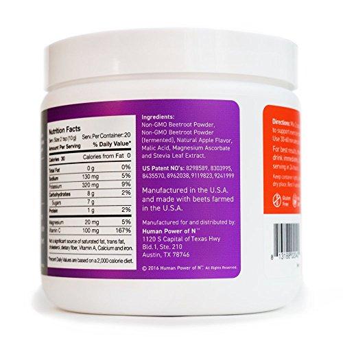 HumanN Beetelite Canister Endurance Superfood Nitric Oxide Activator, Original, 200 Gram