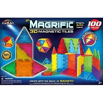 Amazon Com Cra Z Art Magrific Magnetic Set 100 Piece