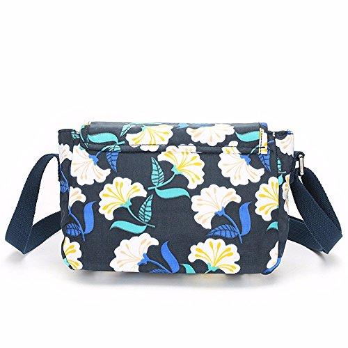 de de toile Bleu l'épaule sac la sac de Marine nylon loisirs de voyage unique gueules EqEFz1TW