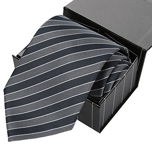 KissTies Extra Striped Necktie Magnetic product image