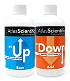 Atlas Scientific pH Up and pH Down Hydroponic Solution - 8oz Bottles