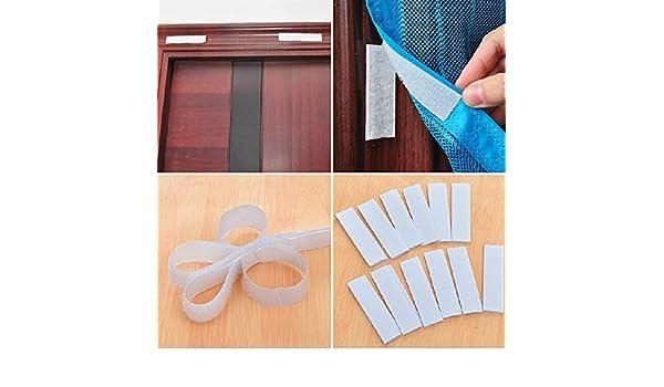 KISENG - Cinta adhesiva de doble cara para ventana de puerta, 1 rollo de nailon: Amazon.es: Bricolaje y herramientas