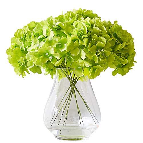 Green Decor - Kislohum Artificial Hydrangea Flower Heads Hydrangea