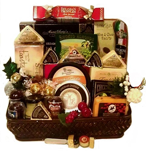 Say Cheese with Pepperoni, Sausage, Salami & More (Wine And Cheese Gift Baskets Delivery)