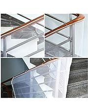 Filet de Protection Escalier, Cizen Filet de Sécurité en Maille Balcon pour Bébé et Enfant, Solide et Réglable, 3* 0.75m / 118.1 * 29.5in