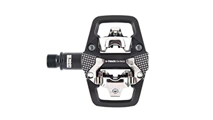 Look X-Track En-Rage Mountain Bike Pedals and Cleats SPD Compatible Black