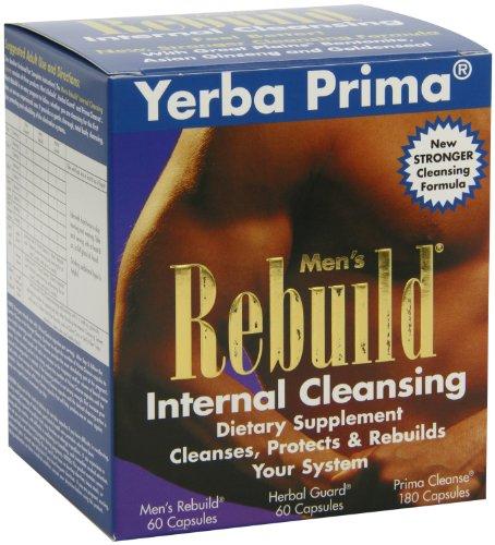 - Yerba Prima Men?s Rebuild? Internal Cleansing System Box, 60 Capsules