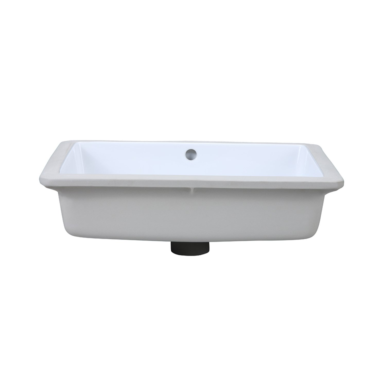 DECOLAV 1482 CWH Lilli Classically Redefined Rectangular Undermount  Lavatory Sink, White   Vessel Sinks   Amazon.com