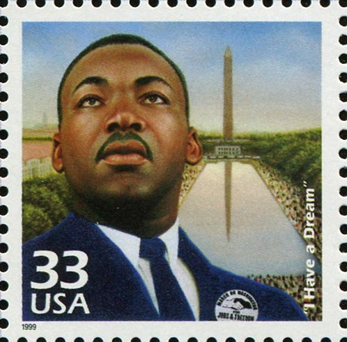 Martin Luther King Stamp (Martin Luther King Jr