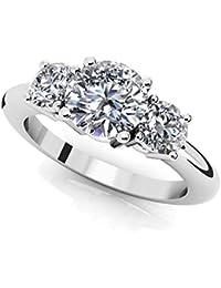 Amazoncom 10000above Engagement Rings Wedding Engagement