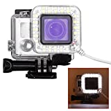 Mystery GoPro Accessories 20 LED Ring Light Flash Frame (Gopro LED Ring Flashlight) USB Lens Ring Flash Light Dedicated Fill Light Shooting for Gopro Hero 4 3+ 3 Standard Waterproof Housing Case