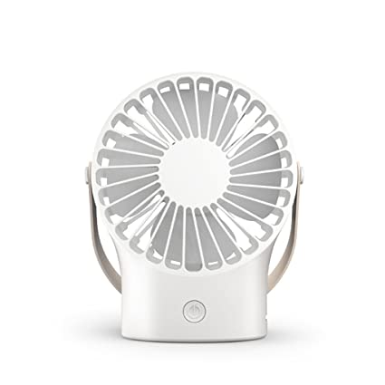 SryWj Ventilador De Escritorio Eléctrico Fan Turbo Fan USB Mini Desktop Power PC - Blanco