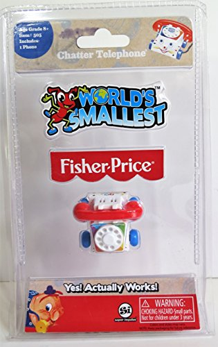 Fisher-Price WORLD'S SMALLEST Working Chatter Phone