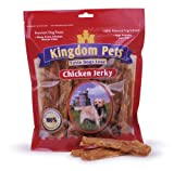 Kingdom Pets Premium Dog Treats, 4-Ounce Bags Chicken Jerky (Pack of 6), My Pet Supplies