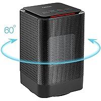 Deals on Oittm Electric Oscillating Mini Space Heater Fan 450W/950W