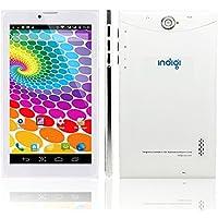 Indigi 7 Android 4.4 KK White Tablet PC 3G Wireless Smartphone 2-in-1 Phablet Unlocked