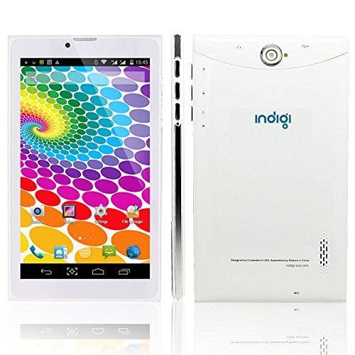 Indigi 7' Android 4.4 KK White Tablet PC 3G Wireless Smartphone 2-in-1...