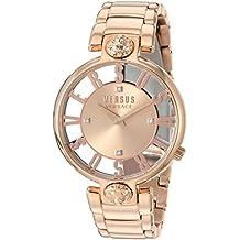 Versus by Versace Women's KRISTENHOF Quartz Watch with Strap, Rose Gold, 106 (Model: VSP490718