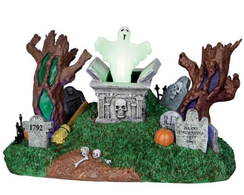 Lemax Spooky Town Haunted Village Cemetery # 24463 by Lemax