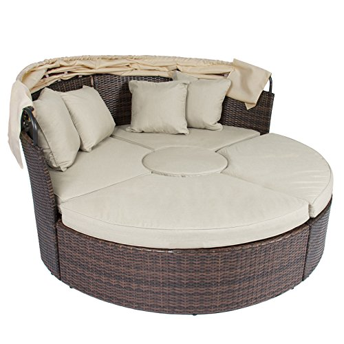 Radeway Patio Furniture Wicker Rattan Outdoor Daybeds With
