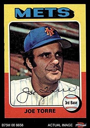 Amazoncom 1975 Topps Mini 565 Joe Torre New York Mets Baseball