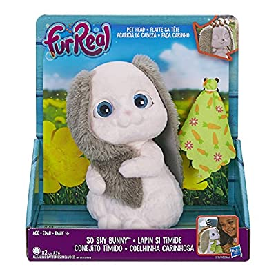 FurReal Fuzz Pets So Shy Bunny: Toys & Games