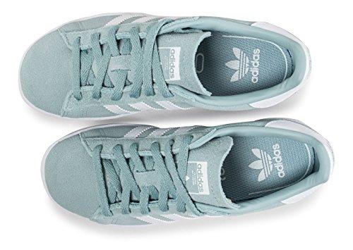 adidas Campus C, Zapatillas de Deporte Unisex Niños Verde (Vertac / Ftwbla / Ftwbla)