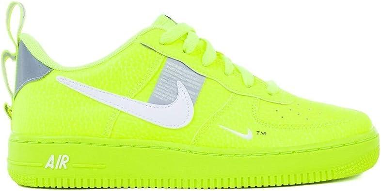 Nike, Bambino, Air Force 1 LV8 Utility, Pelle, Sneakers, Giallo